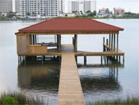 Coastal Marine Builders Boathouses