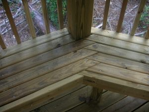 Coastal Marine Builders - Marine Contractor - Gazebo custom design bench