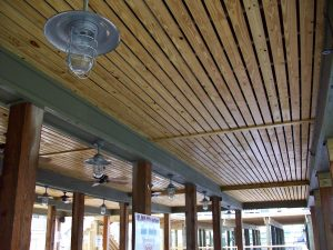 Coastal Marine Builders - Marine Contractor - Marina ceiling