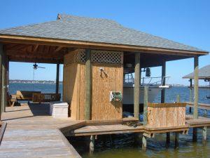 Coastal Marine Builders - Gulf Coast Marine Construction - Boat house, Pier, walkway